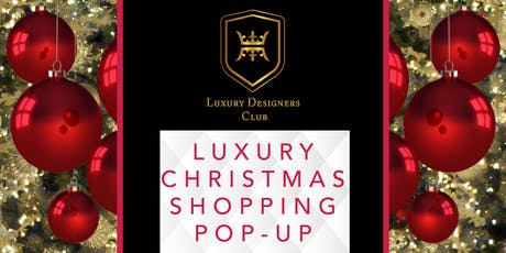 Luxury Christmas Pop-up: fashion, jewellery and accessories tickets