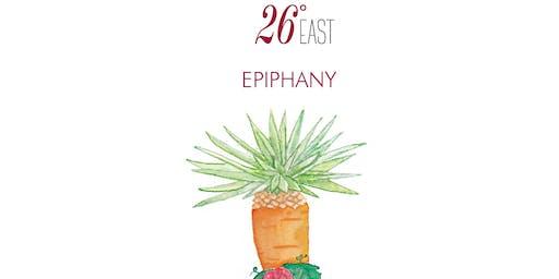Epiphany Cocktail genießen in der 26° East Bar im Kempinski