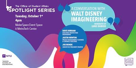 Student Affairs Spotlight Series: A Conversation with Disney Imagineering tickets