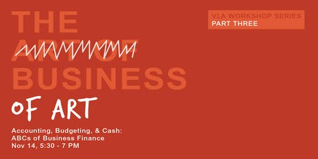 Business of Art: Accounting, Budgeting, & Cash: ABCs of Business Finance  tickets