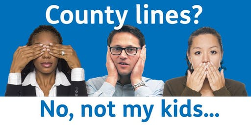 'No, not my kids' - County Lines Talk - Havering Town Hall
