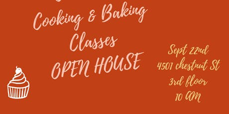 Childrens  Cooking Classes --OPEN HOUSE tickets