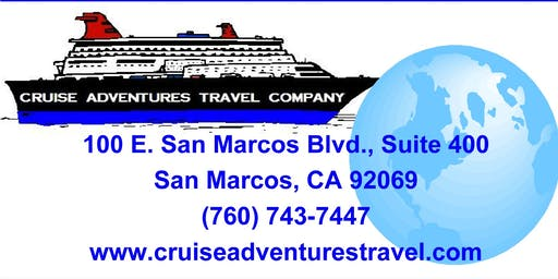 YOU'RE INVITED TO THE LARGEST FREE CRUISE SHOW  IN NORTH COUNTY!