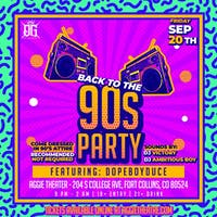 Back to the 90s Party - Sounds By DJ Victory, DJ Ambitious Boy, Featuring Dopeboyduce