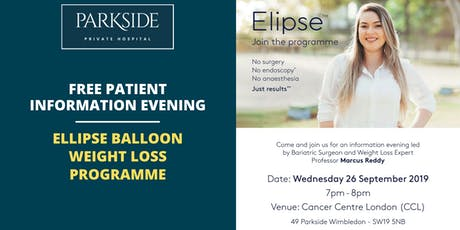 Free Information Event - Elipse Balloon Weight-loss Programme tickets