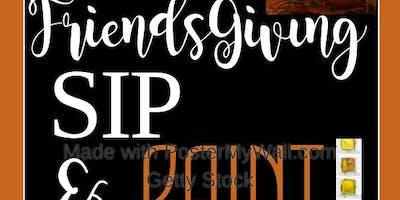 FriendsGiving Sip & Paint
