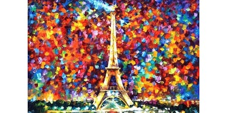 """Sip and Paint """"The Eiffel Tower"""" In Central Park  (2019-09-22 starts at 2:00 PM) tickets"""