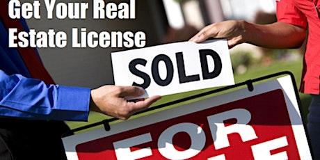 Real Estate Salesperson License Course (4 days) JAN. 18, 19, 25 & 26 tickets