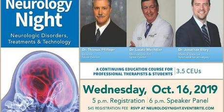 Neurology Night: Neurologic Disorders, Treatments & Technology tickets
