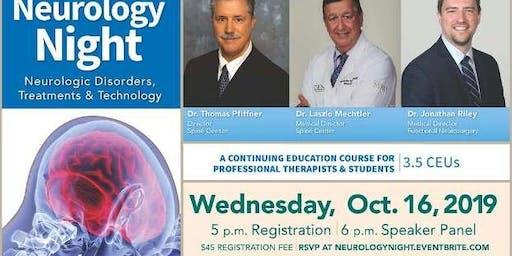 Neurology Night: Neurologic Disorders, Treatments & Technology