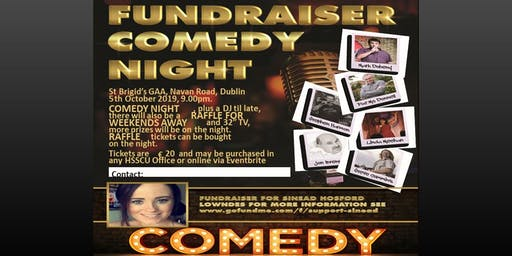 Comedy Fundraiser for Sinead Lowndes Hosford