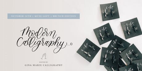Modern Calligraphy for Beginners - Brunch Edition tickets