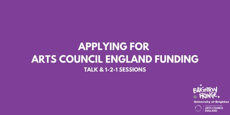 Fringe Academy: Applying for Arts Council Funding tickets