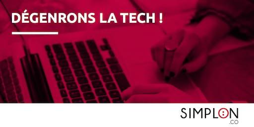 Atelier Dégenrons La Tech inter-entreprises by Simplon