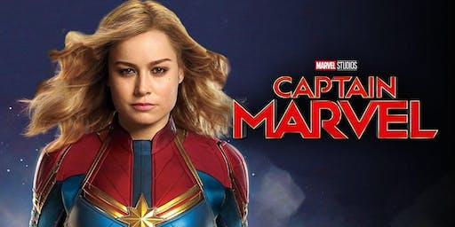 Movie Night in Carolina Wren Park - Captain Marvel