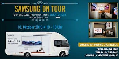SAMSUNG on Tour – Der Samsung Promotion-Truck macht Station in Hamm