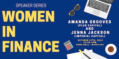 Amanda Groves (PLUS Capital) & Jenna Jackson (Imperial Capital) tickets
