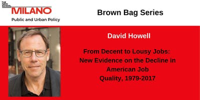 Fall 2019 PUP Brown Bag: New Evidence on the Decline in American Job