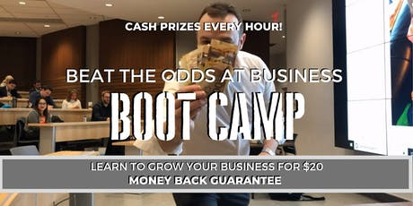 Beat The Odds At Business Boot Camp #BEATTHEODDS tickets