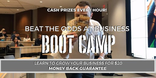 Beat The Odds At Business Boot Camp #BEATTHEODDS