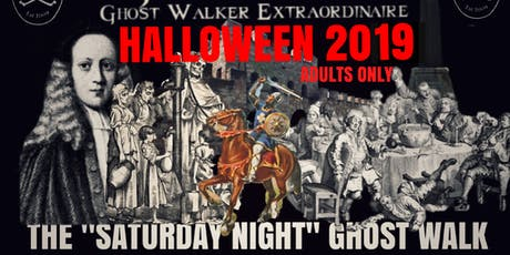 "Flecky Bennett's Halloween 2019 ""Saturday Night"" Ghost Walk  tickets"