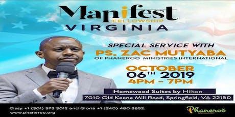 Special Service With Pastor Zac Mutyaba, Phaneroo Ministries International tickets