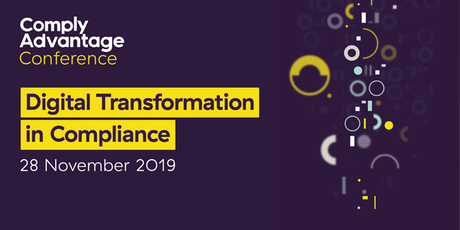 ComplyAdvantage Conference: Digital Transformation in Compliance tickets