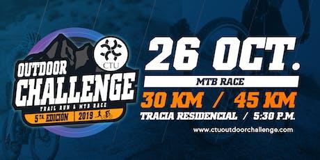CTU Outdoor Challenge MTB Race entradas
