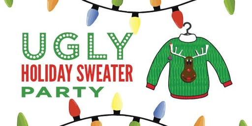 Ugly Holiday Sweater Party, Saturday, November 16, 7-10PM