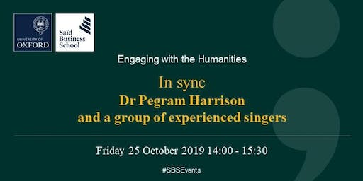 Engaging with the Humanities - In sync, by Dr Pegram Harrison