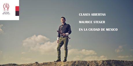 Master Clases con Maurice Steger entradas