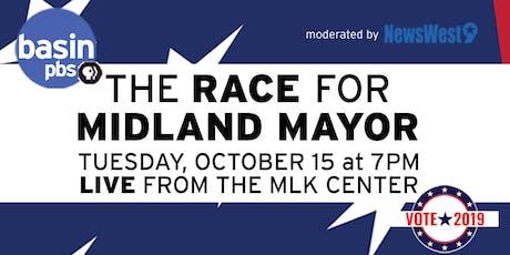 Basin PBS - LIVE Midland Mayoral Debate #2 tickets