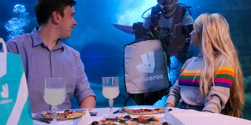 Submerged Supper Club - Deliveroo Under the Sea - 1st October