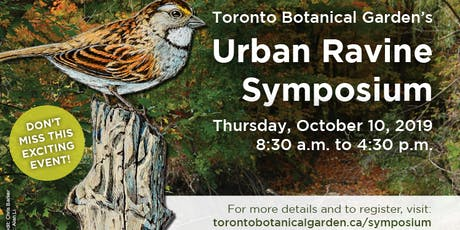 TBG's Urban Ravine Symposium tickets
