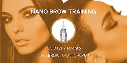 3.5 Day Nano Brow Training with Lashforever Canada