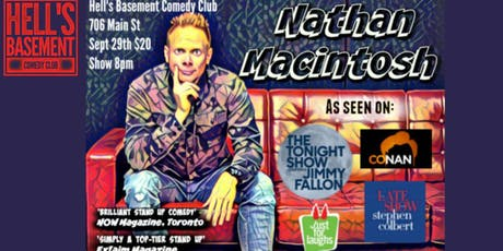 Nathan Macintosh - Live in Hell! tickets