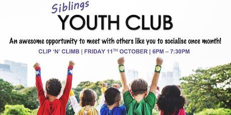 SEND Siblings Youth Club - Clip n Climb tickets