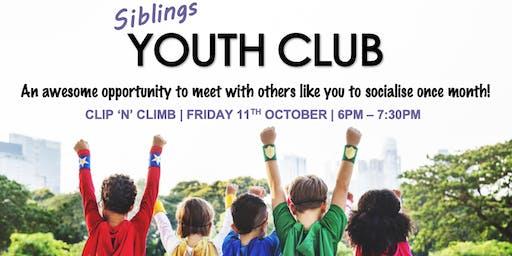 SEND Siblings Youth Club - Clip n Climb