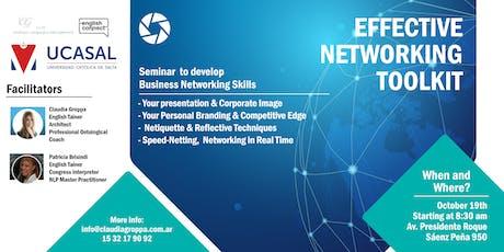 Effective Networking in English entradas