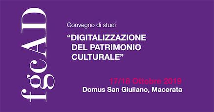 """""""Digitalizzazione del patrimonio culturale"""" biglietti"""