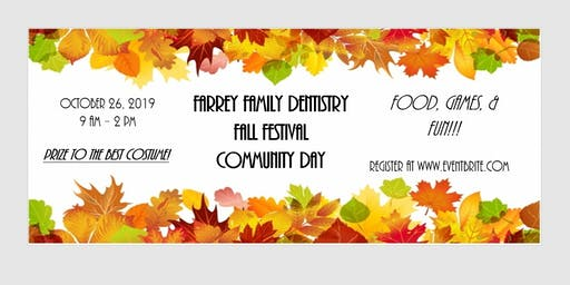 Farrey Family Dentistry Fall Festival Community Day