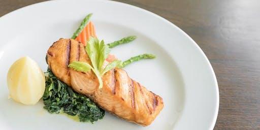 Edlen Fisch und Trüffel als Lunch genießen im Vikas