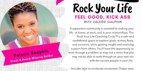 The Rock Your Life Accountability Group TEASER CLASS tickets