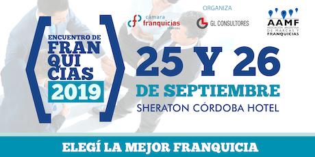 Encuentro de Franquicias Cordoba 2019 entradas