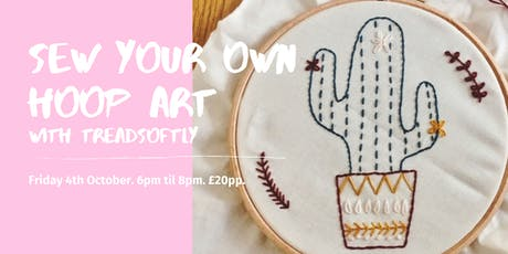 Weekly Wellbeing Workshop - An Introduction to Hand Embroidery tickets