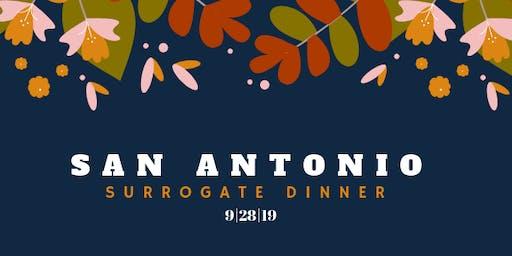 San Antonio Surrogate Dinner