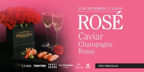 ROS - Caviar, Champagne y Rosas - Dto especial entradas