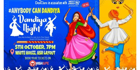 AnyBody Can Dandiya (#ABCD) tickets