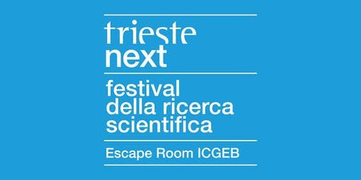 "Trieste Next 2019 | Registrazione ""Escape Room"" ICGEB"