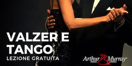 Lezione Gratuita| Fai il primo passo di Valzer e Tango biglietti